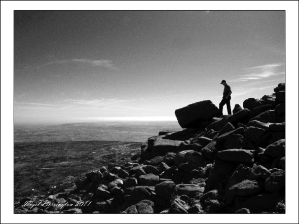 View from the top of Slievenamon