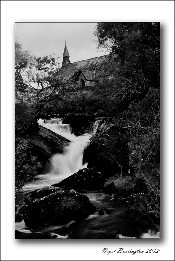 Killarney Galways Church and Bridge Nigel Borrington