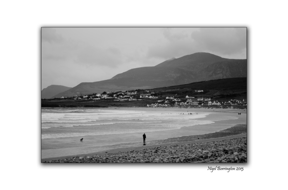 A walk on achill beach