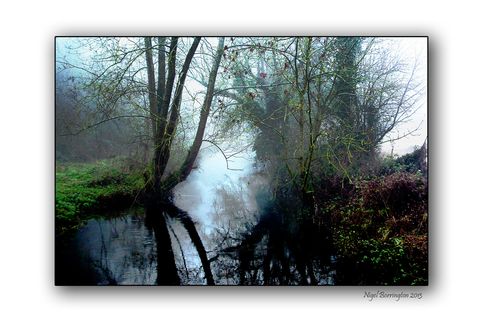 Mist on the kings river kilkenny