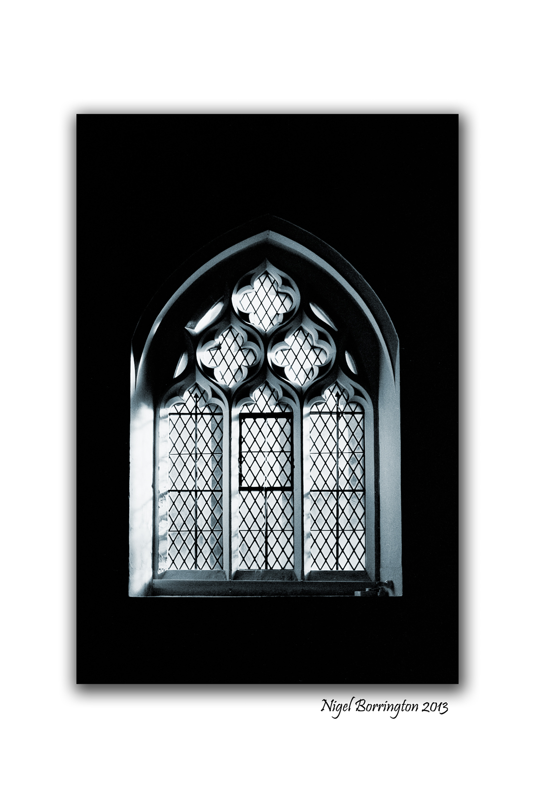 North mimms church window