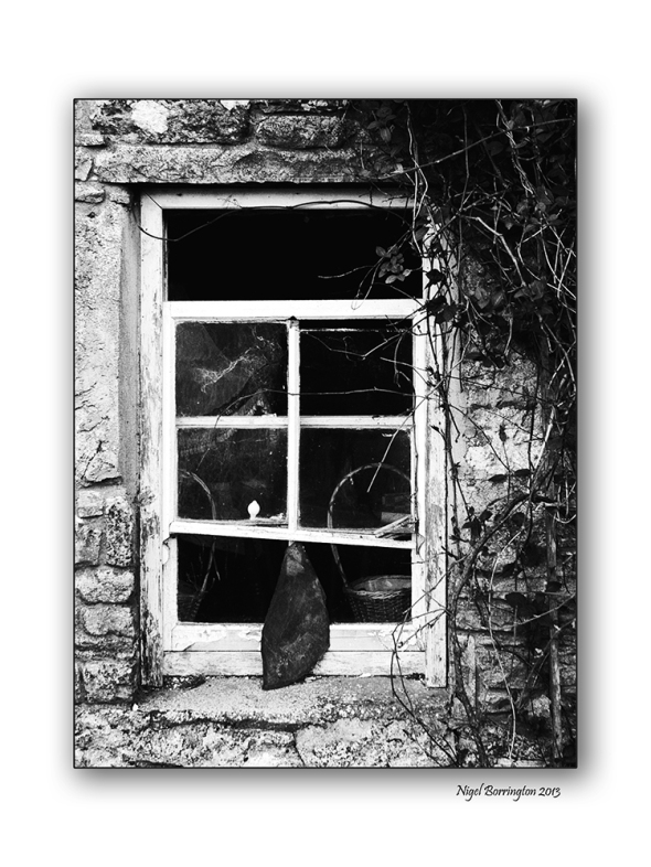 The old cottage window