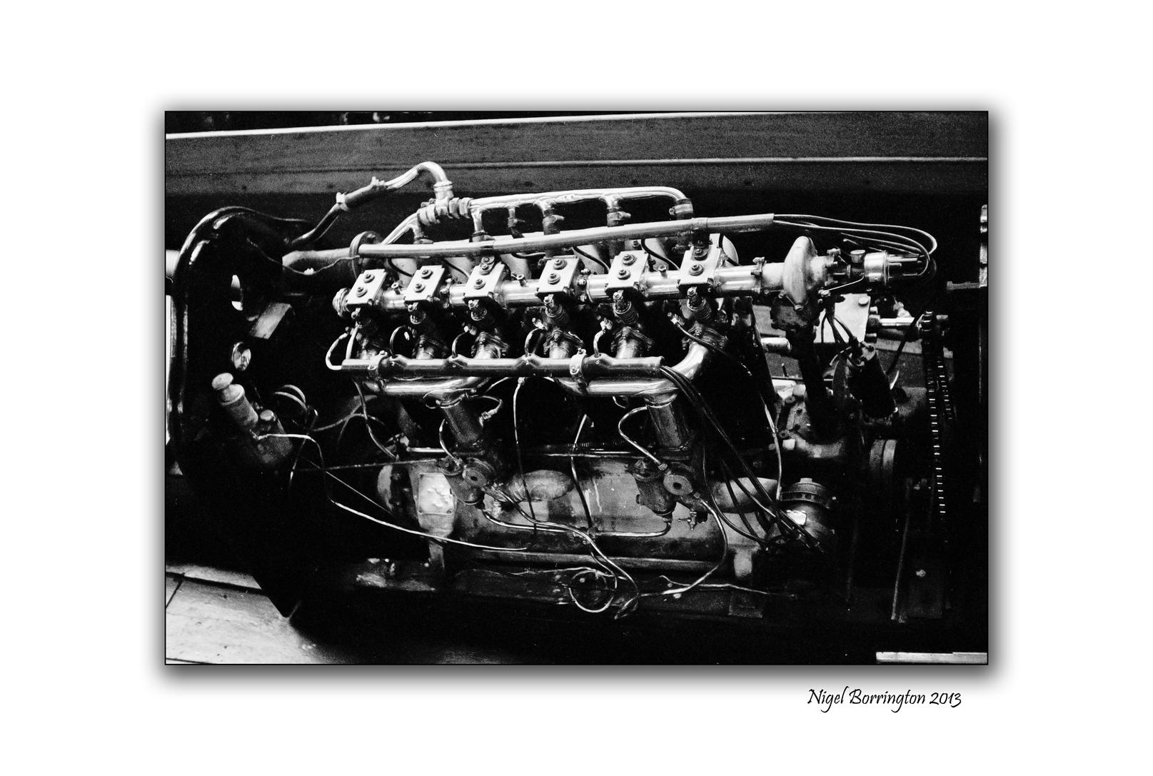 blue bird engine