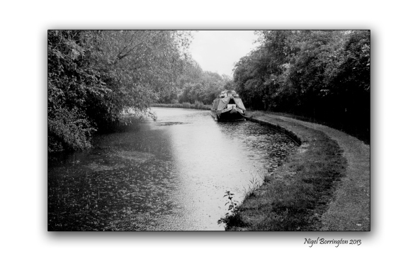 Grand union canal wet day 1