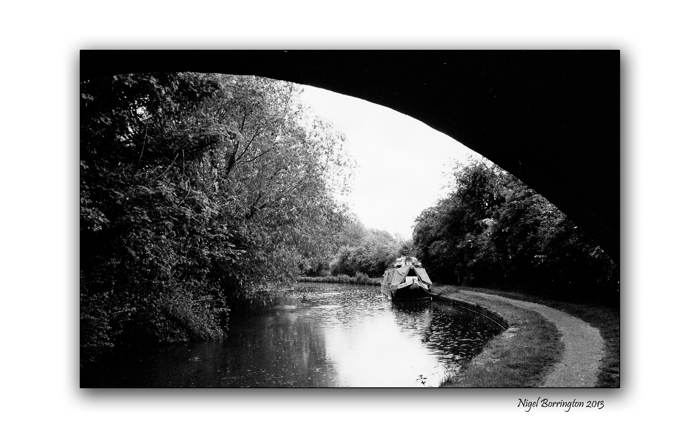 Grand union canal wet day 4