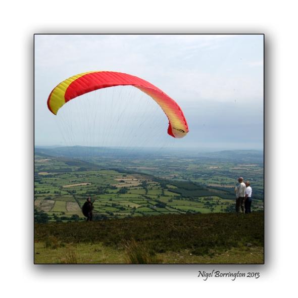 paragliding of slievenamon 2