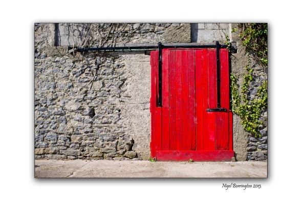 This old mill door
