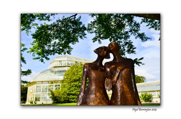 Two friends at the National Botanic Gardens 1