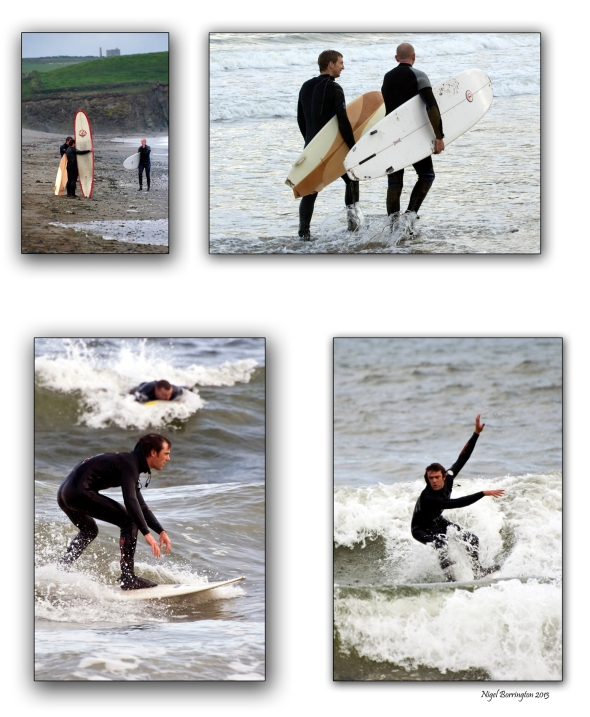 Surfing_Waterfords _Bunmahon_beach_4_Panel