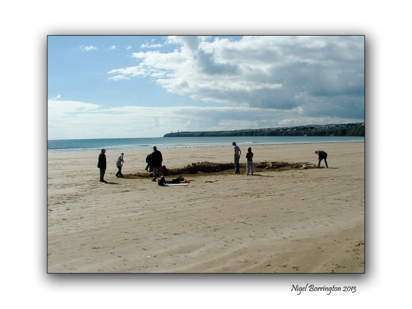 beach sculpture at tramore 5
