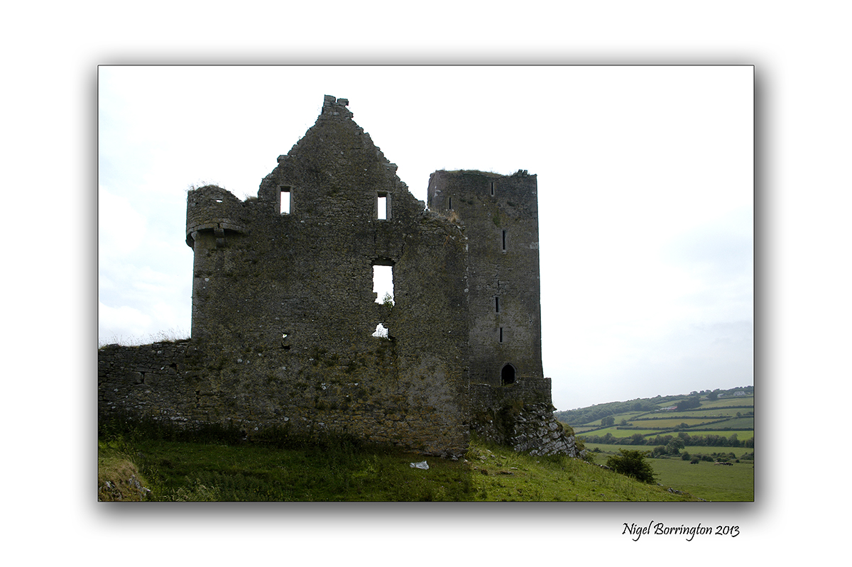 Burnchurch castle 1