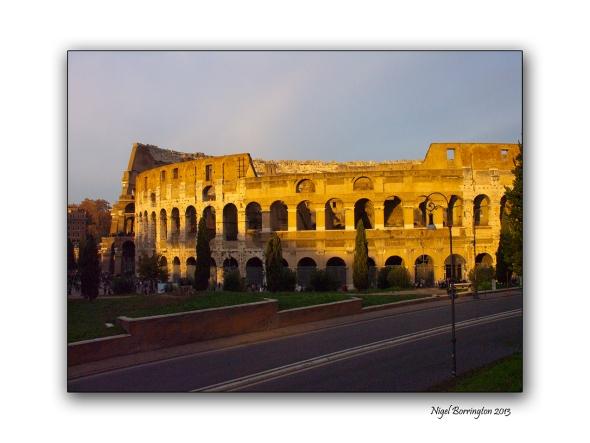 Roman sunset 2