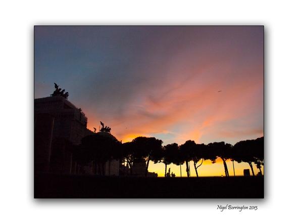 Roman sunset 3