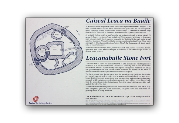 Leacanabuile stone fort