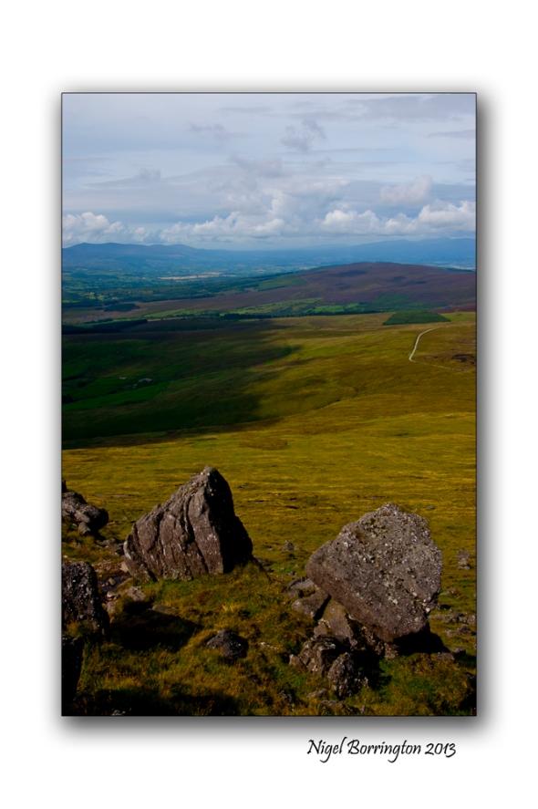 Going up to Knockanaffrin ridge 1