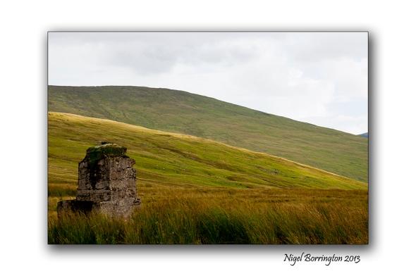 Going up to Knockanaffrin ridge 10