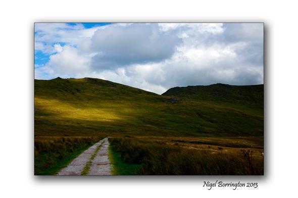 Going up to Knockanaffrin ridge 11