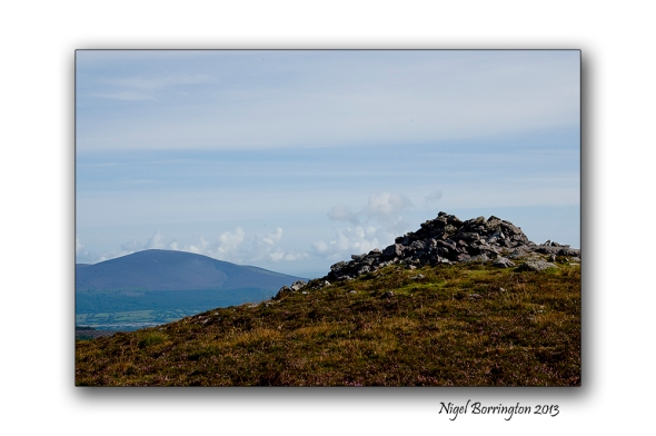 Going up to Knockanaffrin ridge 2