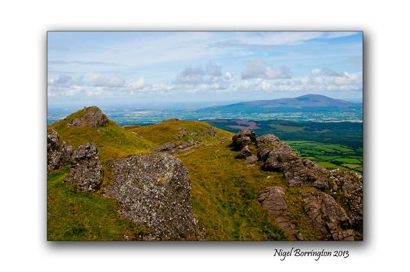 Going up to Knockanaffrin ridge 5