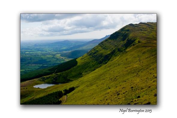 Going up to Knockanaffrin ridge 6