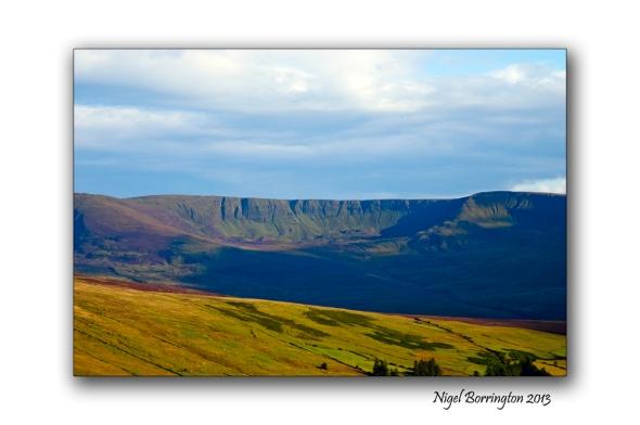 Going up to Knockanaffrin ridge 7