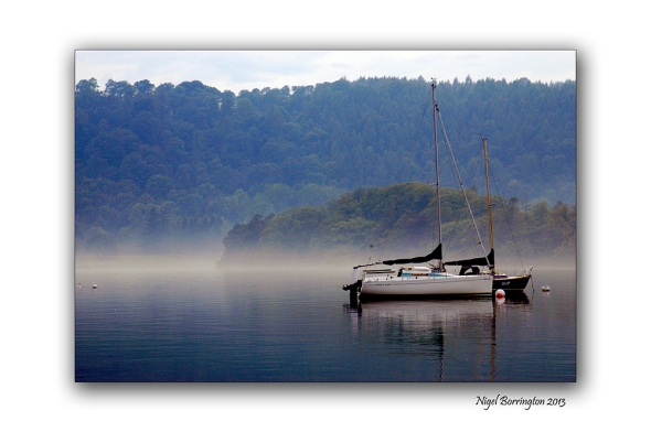 Lake Windermere morning boats 1