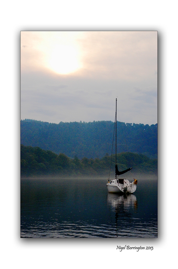 Lake Windermere morning boats 2