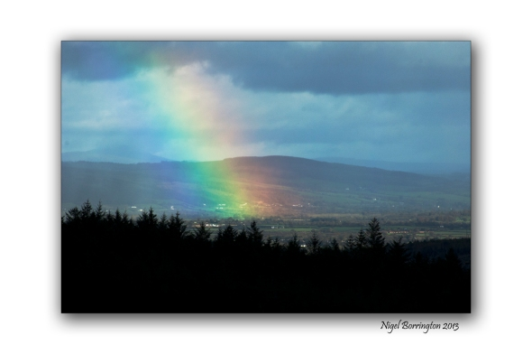 Rainbow over the river suir 1