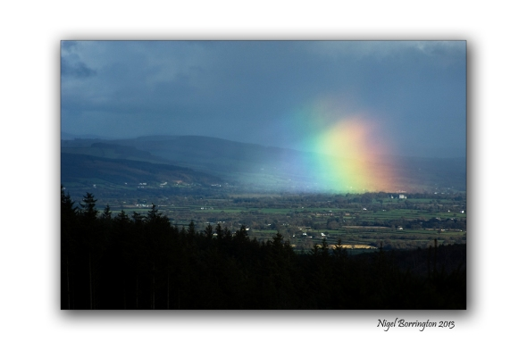 Rainbow over the river suir 2