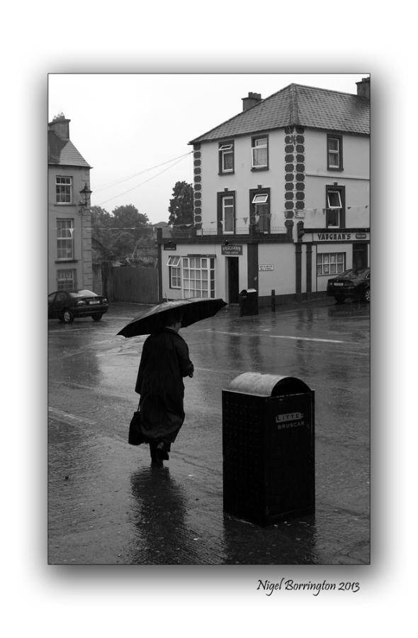 The Cross in the rain Callan