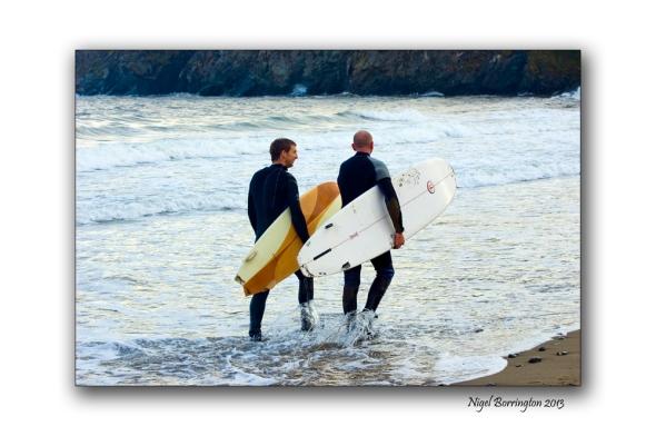 Bunmahon Beach Surfers 1