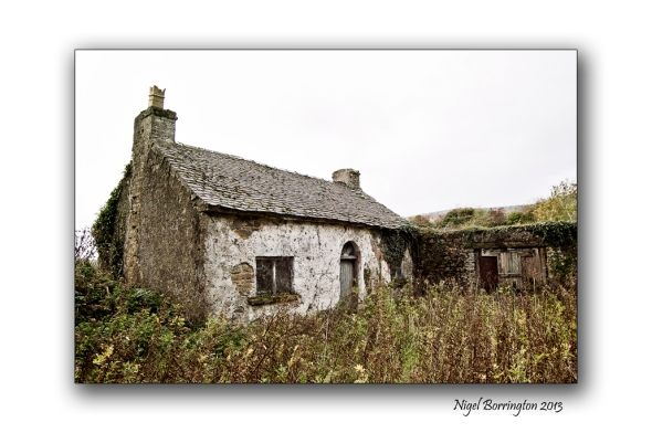 Old house Galtee Mountains 1