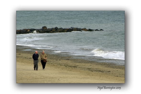 Rosslare on the beach 1