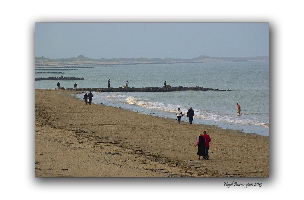 Rosslare on the beach 10