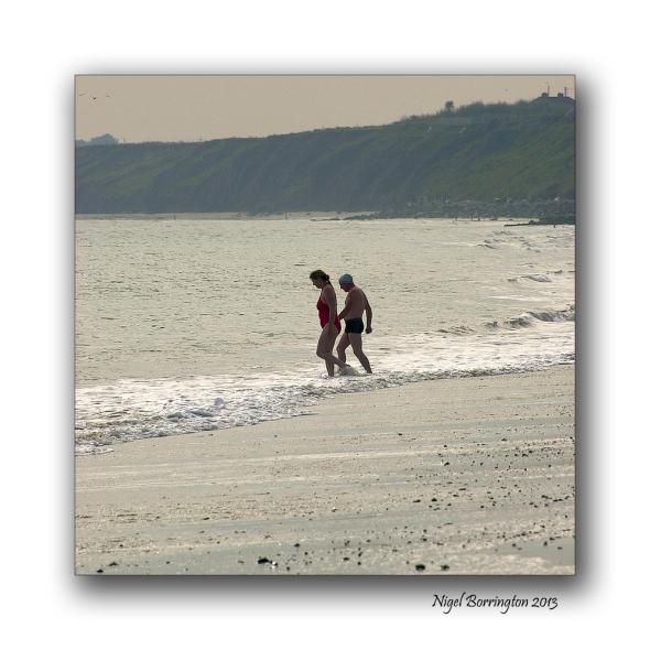 Rosslare on the beach 11