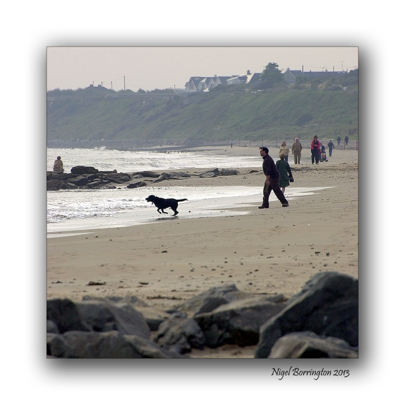 Rosslare on the beach 12