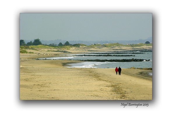 Rosslare on the beach 2