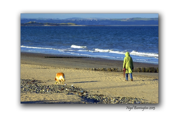 Rosslare on the beach 6