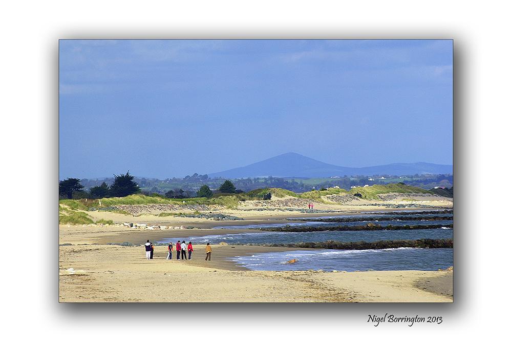 Rosslare on the beach 8