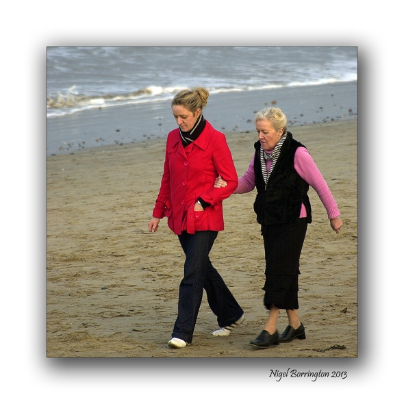 Rosslare on the beach 9