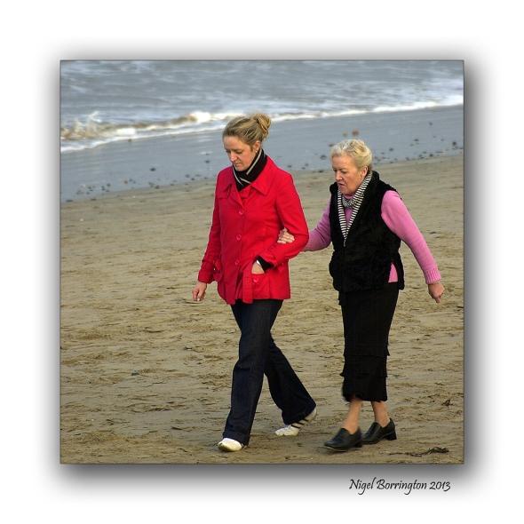 Rosslare on the beach 9