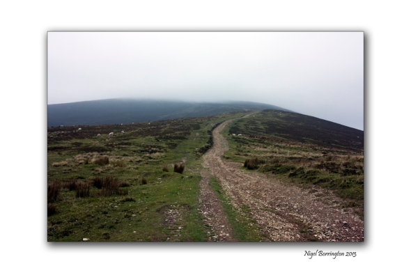 Walking up slievenamon 7
