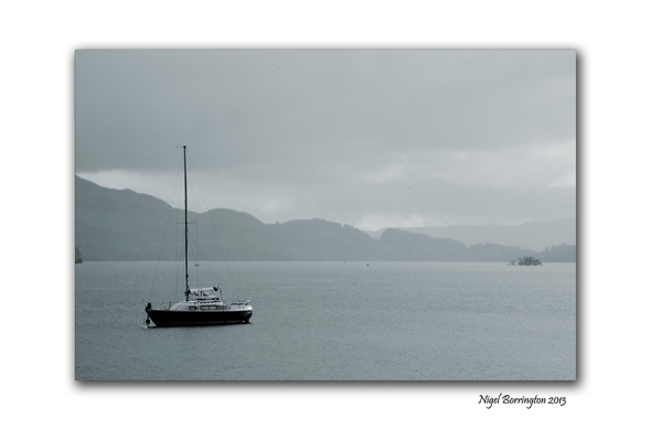 Rain on Loch Lomond 3