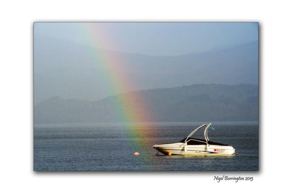 Rain on Loch Lomond 5