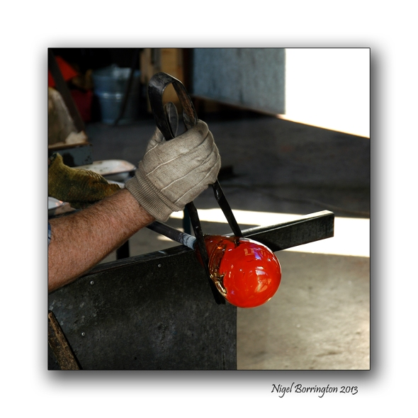 The Glass blower 1