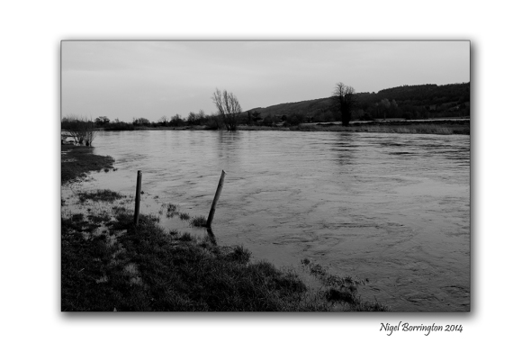High river flow 10