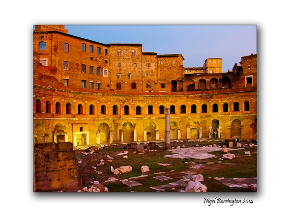 Views from the Via Dei Fori Imperial Rome 2
