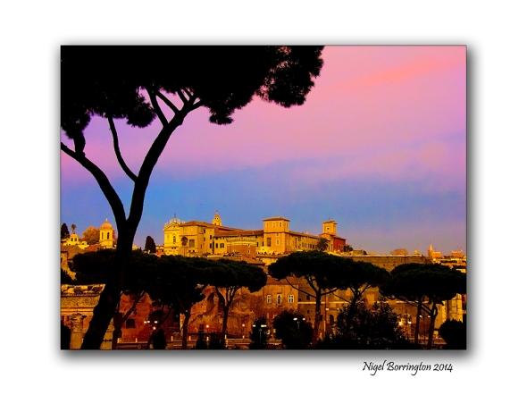 Views from the Via Dei Fori Imperial Rome 3