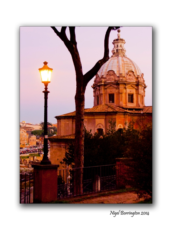 Views from the Via Dei Fori Imperial Rome 4