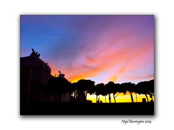 Views from the Via Dei Fori Imperial Rome 5